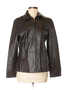Blassport Leather Jacket Size M