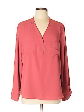 Nine West Long Sleeve Blouse Size XL