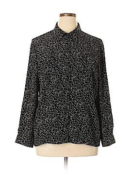 Kim Rogers Long Sleeve Blouse Size XL