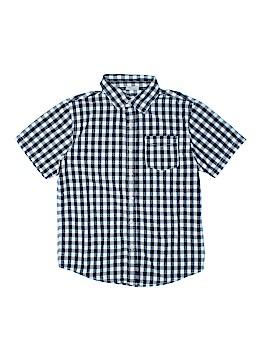Crazy 8 Short Sleeve Button-Down Shirt Size 10 - 12