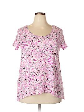 Saint Tropez Short Sleeve T-Shirt Size 1X (Plus)