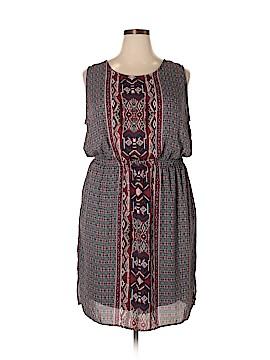 Bobeau Casual Dress Size 3X (Plus)
