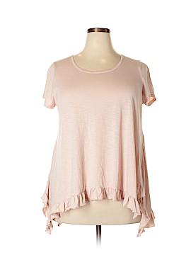 Cupio Short Sleeve Top Size 1X (Plus)