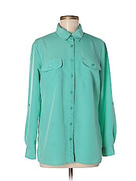 Elementz Long Sleeve Blouse Size M