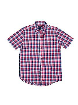 Gap Kids Outlet Short Sleeve Button-Down Shirt Size L (Kids)