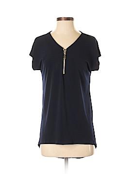 Carmen Carmen Marc Valvo Short Sleeve Blouse Size XS