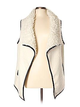 Live A Little Faux Fur Vest Size L