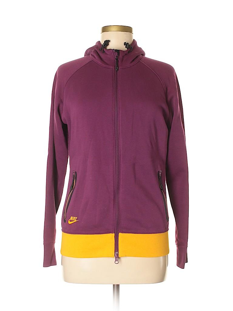 486d45bef082 Nike Color Block Dark Purple Track Jacket Size M - 73% off