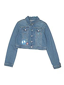 Justice Denim Jacket Size 16