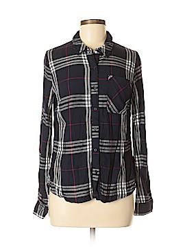 Como Vintage Long Sleeve Button-Down Shirt Size M