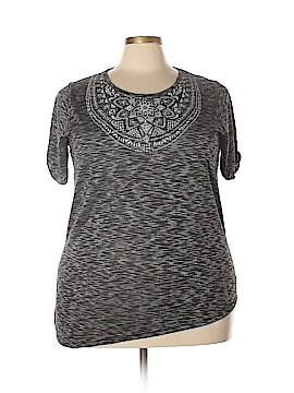 Silverwear Short Sleeve Top Size 2X (Plus)