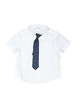 H&M Short Sleeve Button-Down Shirt Size 2