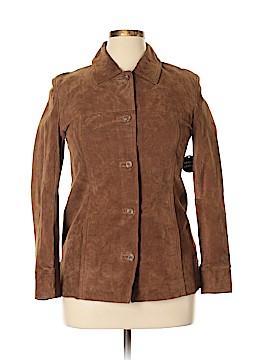 Jaclyn Smith Leather Jacket Size S