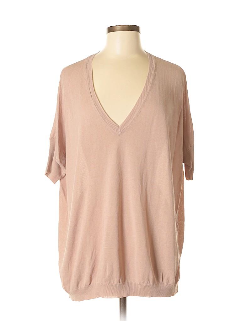 525 America Women Short Sleeve Top Size Med - Lg