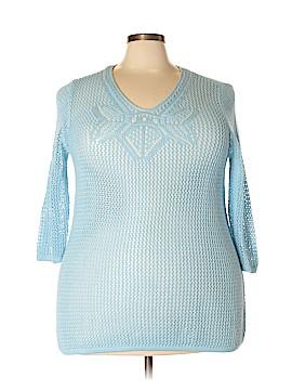 Valerie Stevens Pullover Sweater Size 1X (Plus)