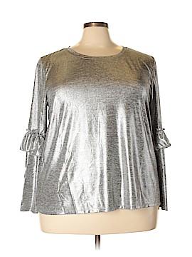 Eloquii Long Sleeve Blouse Size 22 - 24 Plus (Plus)