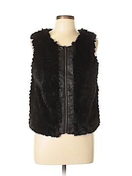 Kensie Faux Fur Vest Size L