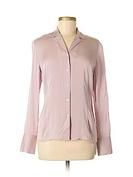 Ann Taylor LOFT Long Sleeve Silk Top Size 6