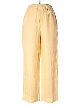 Coldwater Creek Linen Pants Size 12