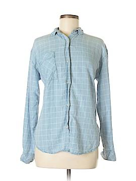 Jun & Ivy Long Sleeve Button-Down Shirt Size M