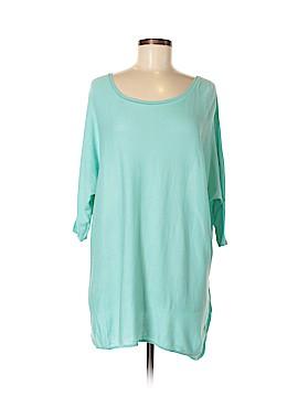 Garnet Hill Silk Pullover Sweater Size M