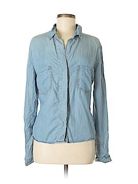 Signature 8 Long Sleeve Button-Down Shirt Size M