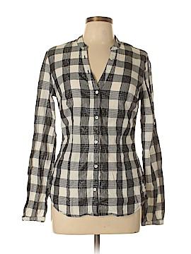 Converse Long Sleeve Button-Down Shirt Size M