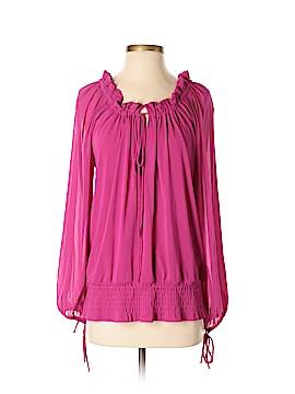 Vivienne Tam Long Sleeve Blouse Size S