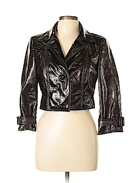 Carlisle Faux Leather Jacket Size 10