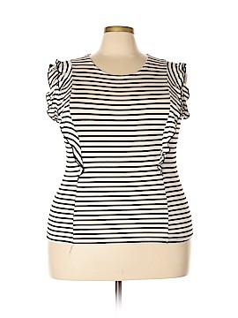FASHION TO FIGURE Short Sleeve Top Size 2X Plus (2) (Plus)