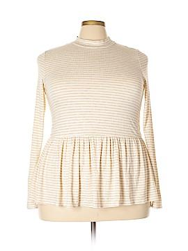 FASHION TO FIGURE Long Sleeve Top Size 2X Plus (2) (Plus)