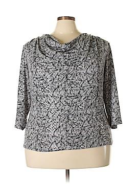 MSK 3/4 Sleeve Top Size 3X (Plus)