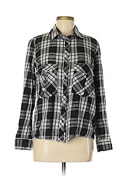 Zara Long Sleeve Button-Down Shirt Size M