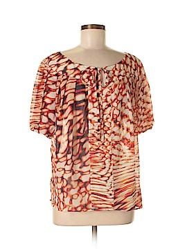 Escada Short Sleeve Blouse Size 40 (EU)
