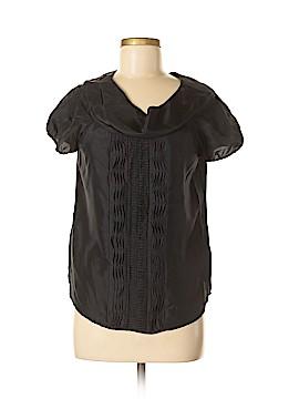Cynthia Cynthia Steffe Short Sleeve Silk Top Size 8