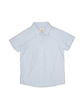 Lands' End Short Sleeve Button-Down Shirt Size 5 - 6