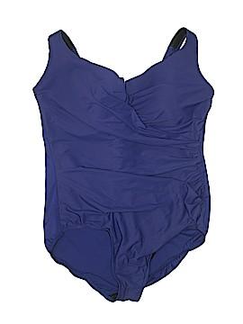Miraclesuit One Piece Swimsuit Size 22 (Plus)
