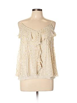 Etcetera Sleeveless Silk Top Size 10