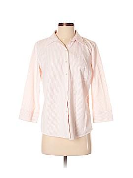 L.L.Bean Factory Store 3/4 Sleeve Button-Down Shirt Size S