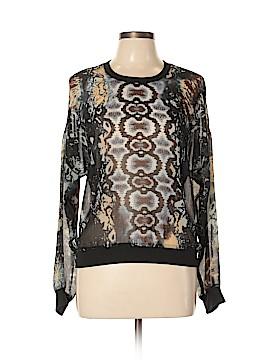 CAbi Long Sleeve Blouse Size M