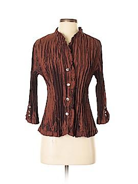 Agora 3/4 Sleeve Blouse Size L (Petite)