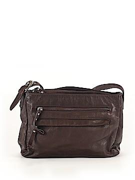 Stone Mountain Leather Crossbody Bag One Size