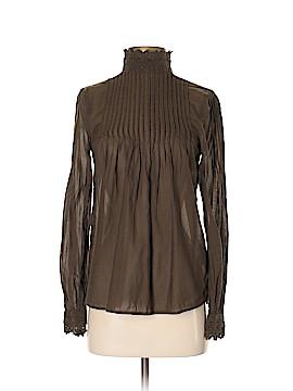 H&M L.O.G.G. Long Sleeve Blouse Size 2