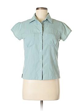 Eastern Mountain Sports Short Sleeve Button-Down Shirt Size M