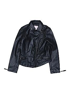 Jessica Simpson Faux Leather Jacket Size 10 / 12