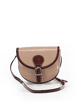 Vera Pelle Leather Crossbody Bag One Size
