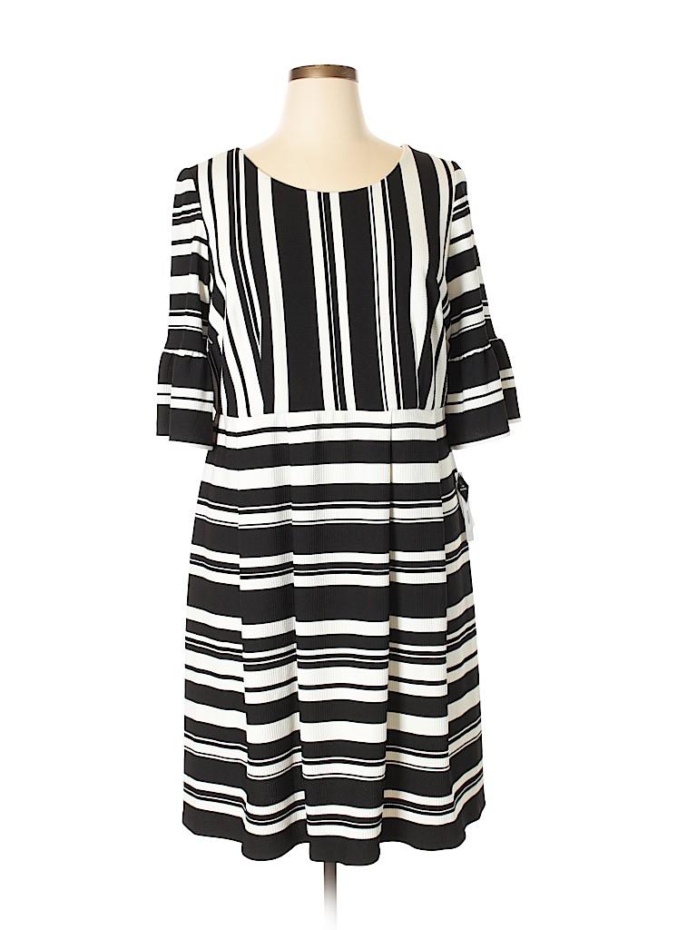 Sandra Darren Women Casual Dress Size 14W