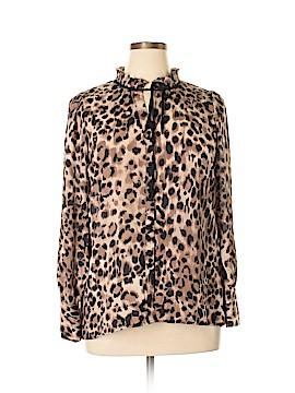 Melissa Paige Long Sleeve Blouse Size L