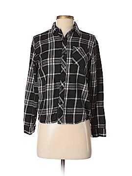 Element Long Sleeve Button-Down Shirt Size M
