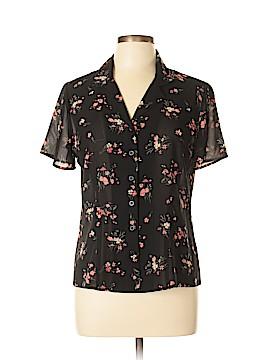 Casual Corner Annex Short Sleeve Blouse Size 10